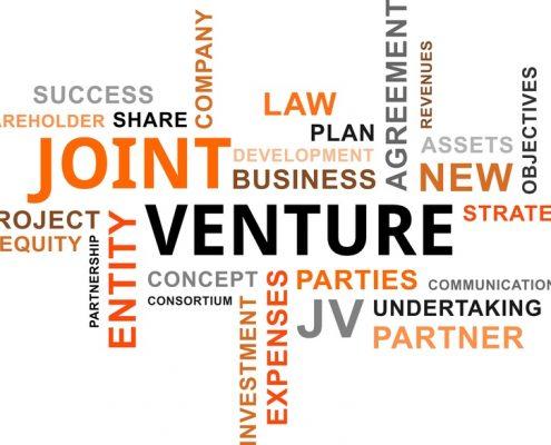 word cloud - joint venture
