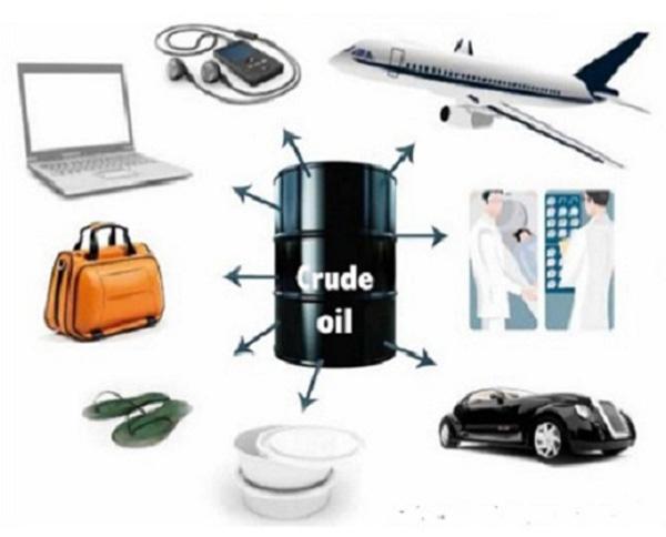 کاربرد نفت خام در صنعت